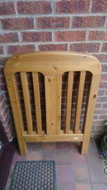 Wooden Maclaren cot - sturdy