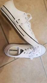 Converse (white leather)