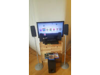 LG Smart 3D Blu-Ray Home surround cinema system (USB, AUX, LAN, DVD, CD). Delivery options available