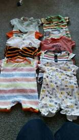 Summer All in one outfits 3-6 months