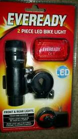 2 piece bike light set