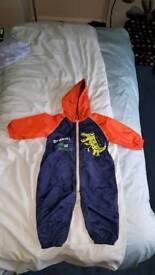 Debenhams Blue Zoo puddle suit
