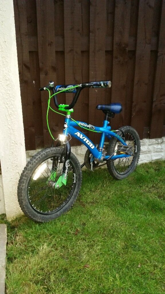"Boys 18"" bmx bike in excellent condition can deliver for a small charge"