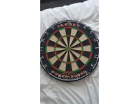 Second hand Phil Taylor dart board