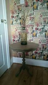 Shabby chic hallway/side table