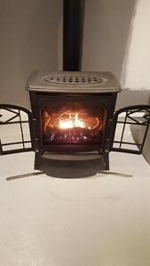 Freestanding gas fireplace SALE!