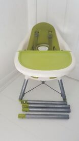 Apple Highchair- 2 stages