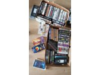 Job lot VHS tapes over 50 tapes