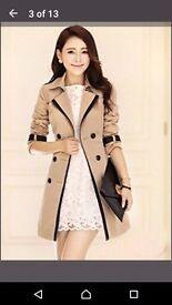 Women's trench coat size 8-10