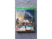 Xbox 1 Assassin's Creed ORIGINS game