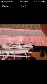 Lindam pink bed guard