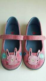 Girls size 11 Next shoes