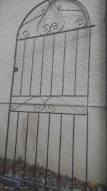 Metal garden gate. New.