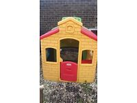 Play house for collection