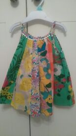 *NEW* baby girls Next dress and leggings summer outfit 9-12 months