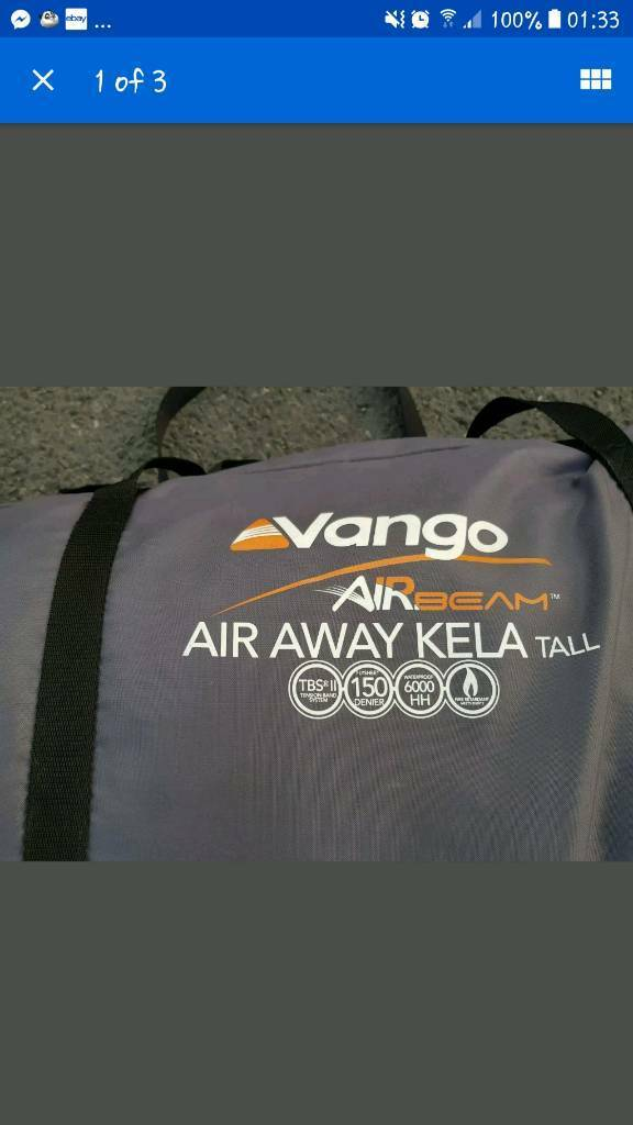 Vango air beam kela tall drive away awning | in Penryn ...