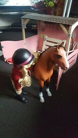 Our generation horse stable doll and horse