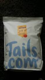 Dry dog food tails 8kg bags 3 available