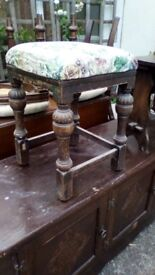 Pretty vintage / antique stool on Starcross EX6 8QG