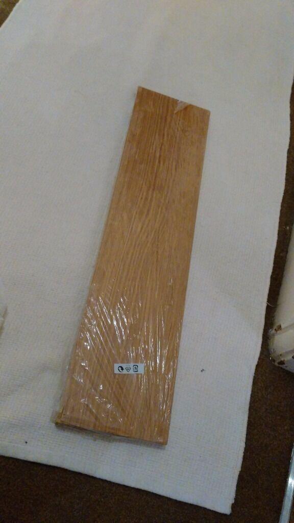 Ikea oak veneer shelf (shelf only) – brand new