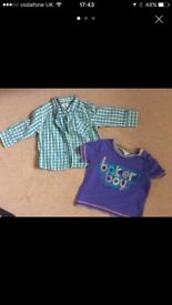 Ted Baker Shirt and T shirt