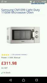 Restaurant Commercial microwave Samsung
