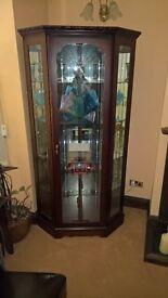 Large Corner display cabinet