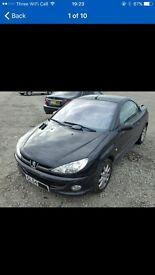 Peugeot 206 cc for sale