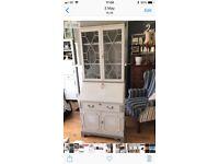 Vintage bureau pale grey