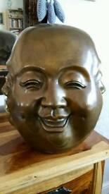 Large Brass 4 face Buddha