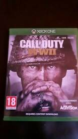 Xbox one call of duty WII