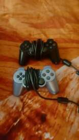 2x sony PS2 CONTROLLERS £6 each
