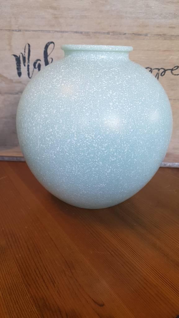 Studio Nova Speckled Glass Round Vase In Acocks Green West