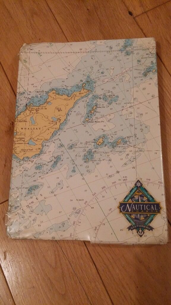 Nautical Charts - Island Sheets