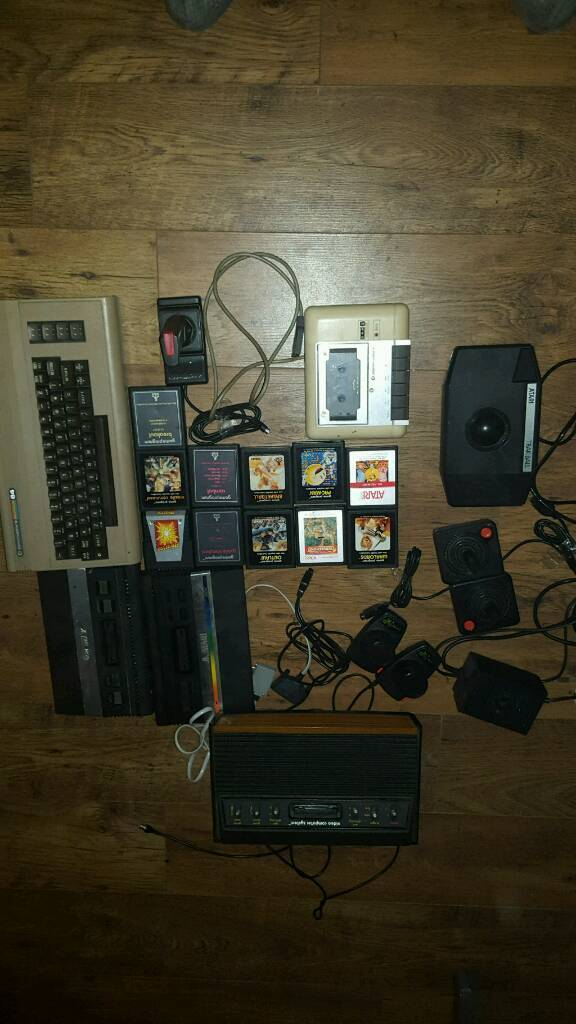 Atari commodore 64 games etc