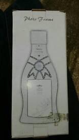 21st birthday bottle photo frame