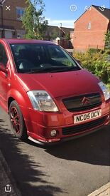 Citreon C2 furio (low mileage) LIMITED EDITION