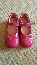 Girls Clarks shoes size 10E