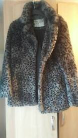 New Look Faux Fur coat