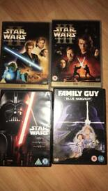 Star wars dvds