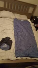 Light weight sleeping bag