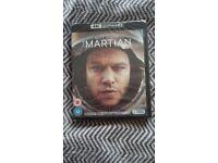 Martian blu-ray 4K Ultra HD