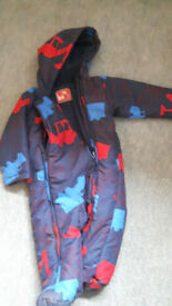 Marks and Spencer 9-12 months boys snow suit