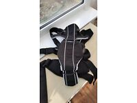 Baby Bjorn Miracle Carrier with Bib and Bad Weather Cover