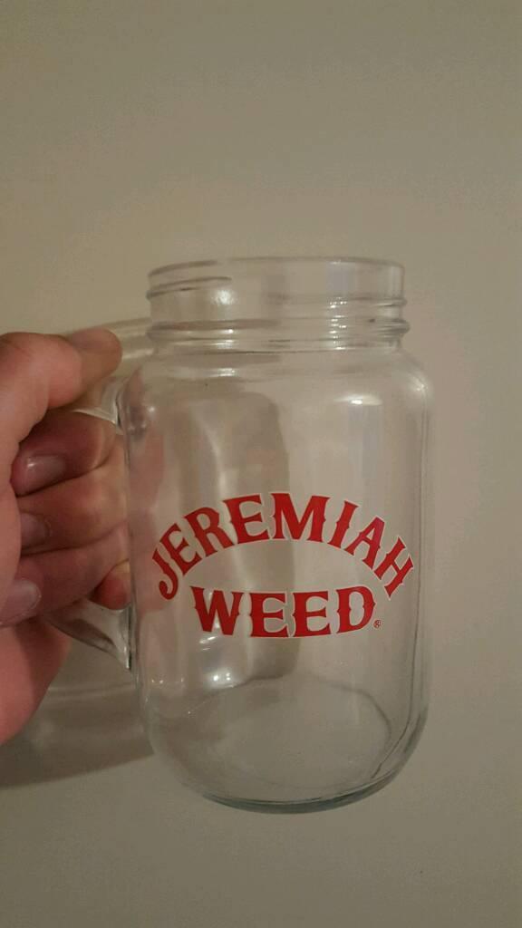 Jeremiah weed jars