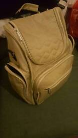 Baby changing backpack bag