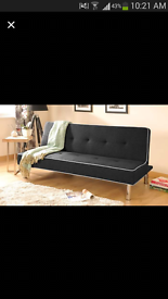charcoal black sofabed brand new