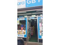 24 hours off licence and groceries for sale