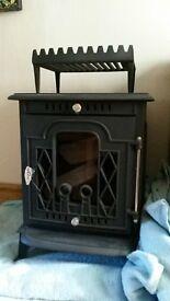 wood burning stove 8 kw. Kimmeridge. never used, as new.