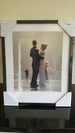 New Jack Vettriano print in original packaging